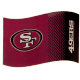 San Francisco 49ers Large NFL Logo Fade Flag (bst)